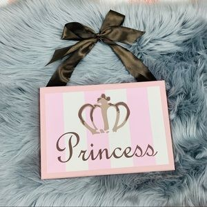 Other - Princess canvas wall art 👸